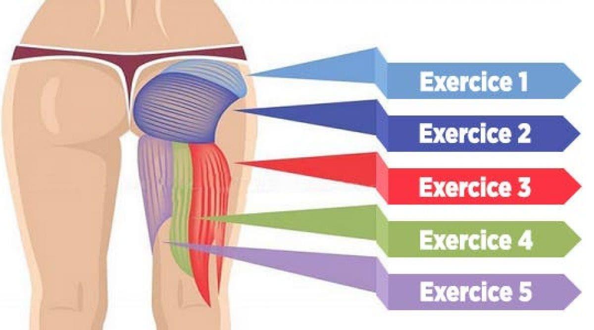 5 exercices puissants pour muscler vos fessiers, améliorer votre posture et brûler les graisses !