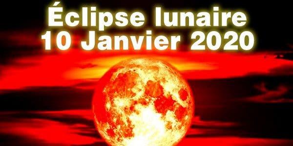 la première éclipse lunaire de la décennie