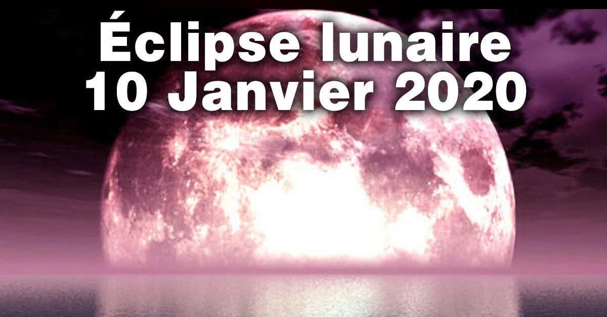 éclipse 10 janvier 2020