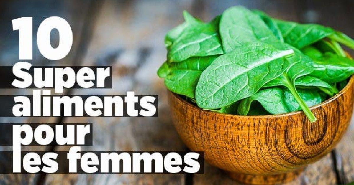 10 Super aliments pour femmes11