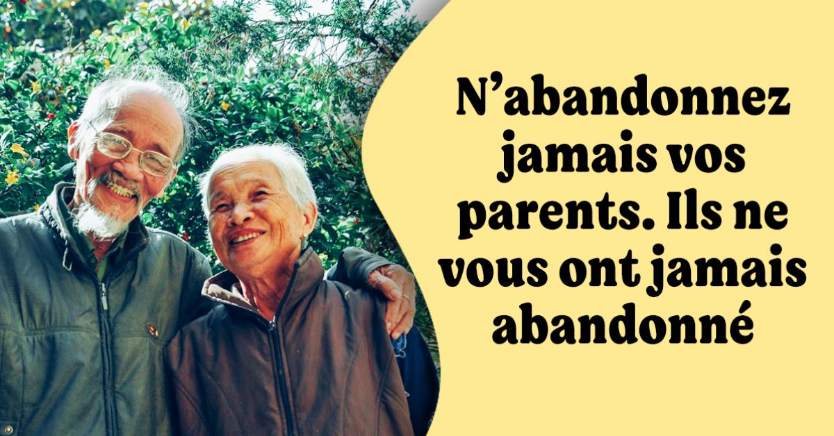 10 devoirs que nous avons envers nos parents