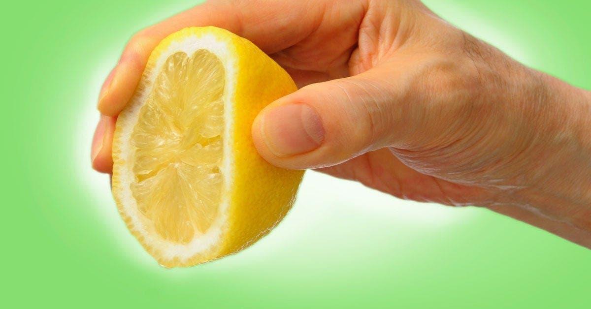 douleur citron