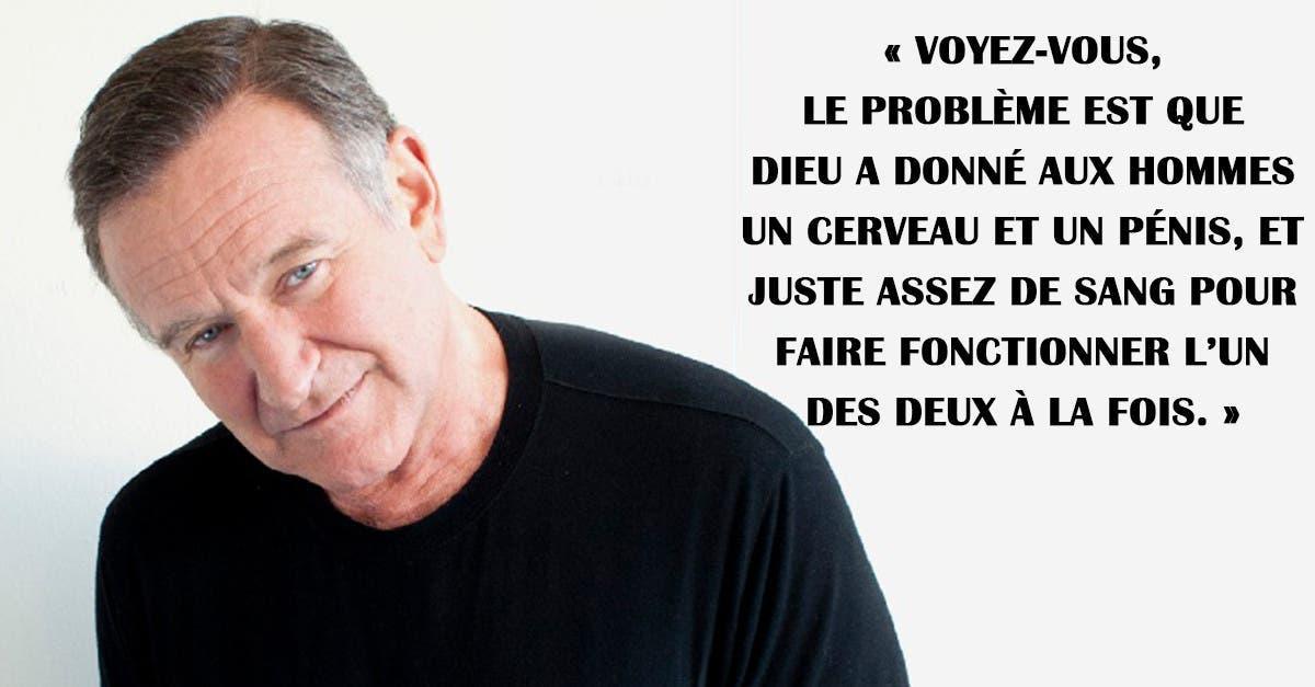11 Citations De Robin Williams Sur L Amour L Argent Le Sexe Et