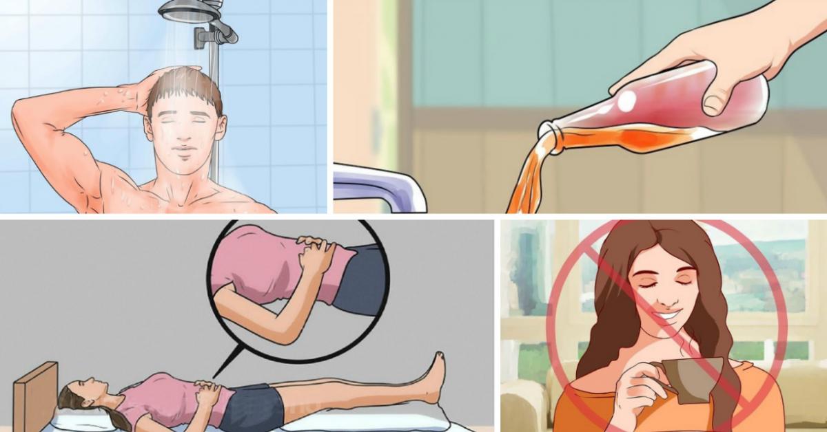 11 habitudes que vous avez le soir qui détruisent votre santé. Vous êtes prévenus !