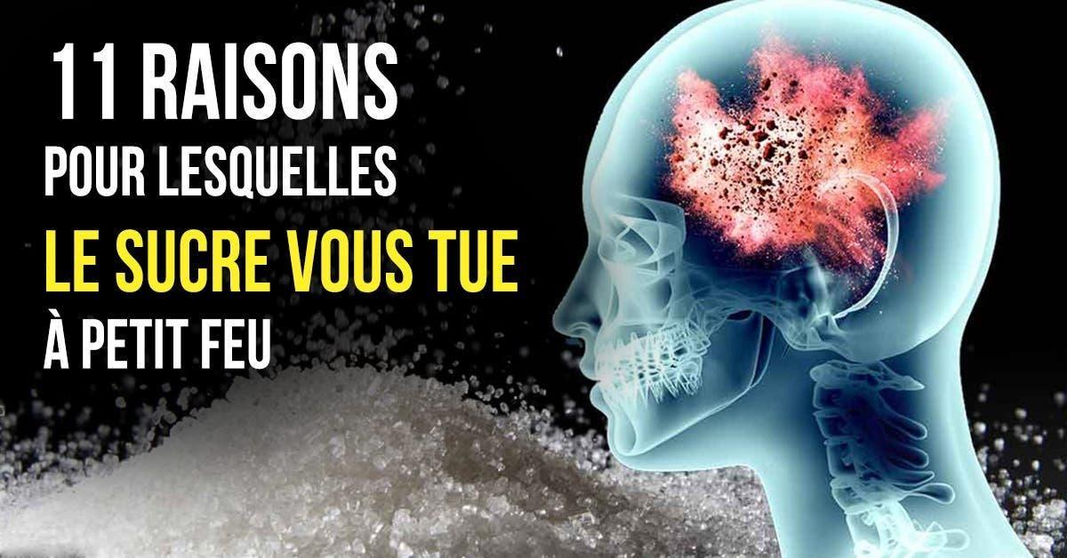 11 raisons pour lesquelles le sucre vous tue a petit feu 1