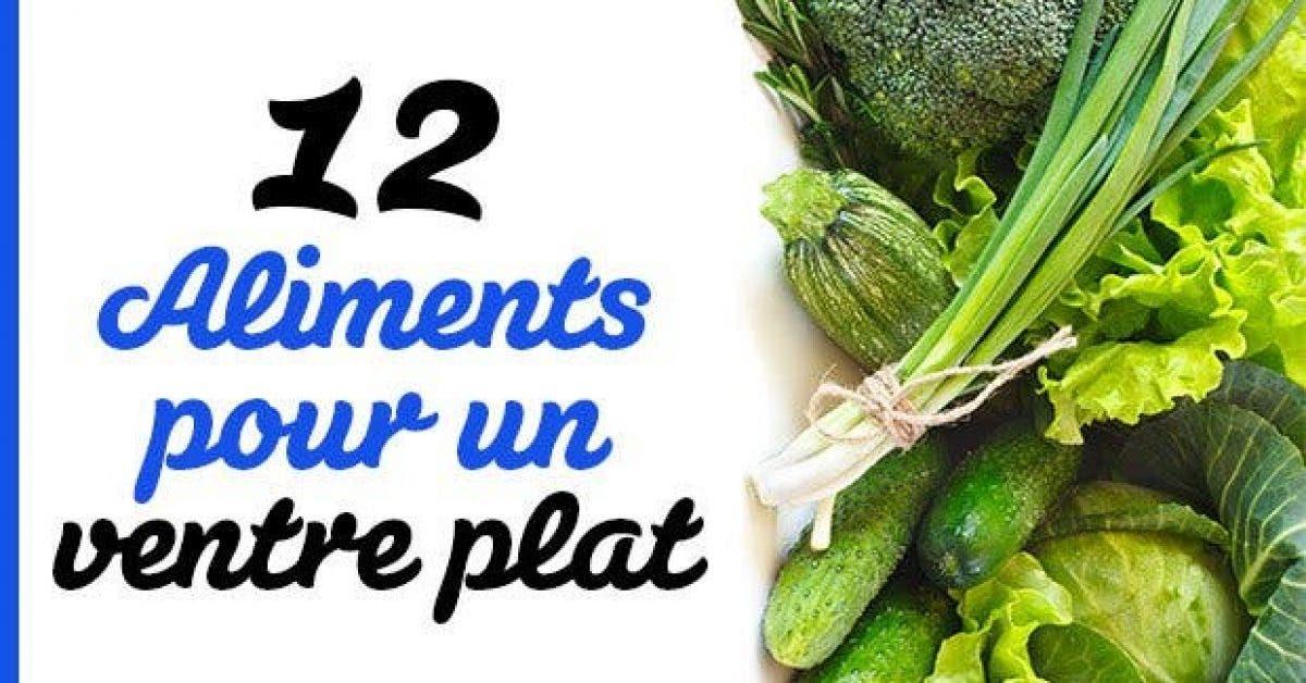 12 Aliments pour un ventre plat11