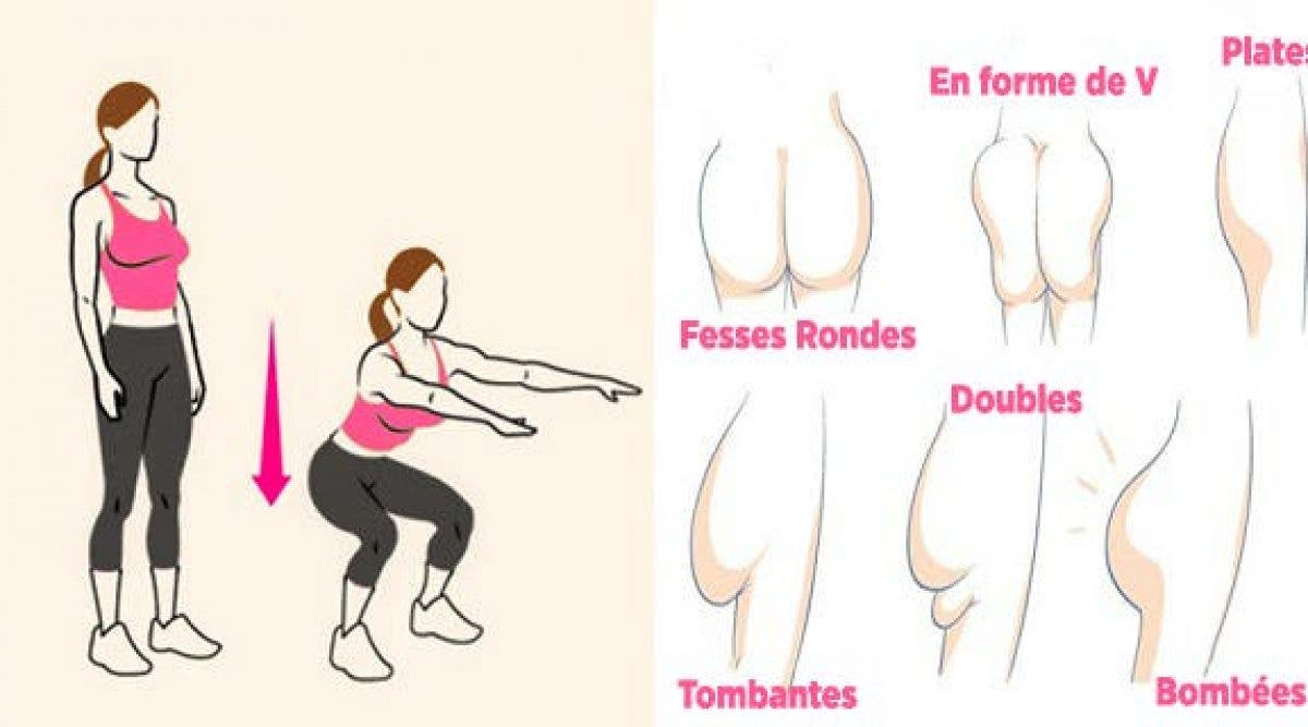 12 exercices pour tonifier vos fessiers et avoir des fesses magnifiques !
