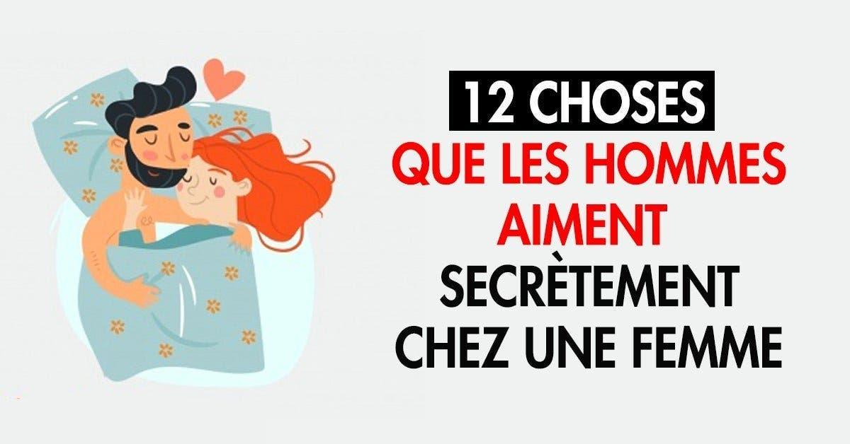12 choses que les hommes aiment secrètement chez une femme