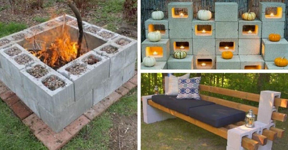 12 superbes idees de decoration avec des parpaings pour votre maison 1