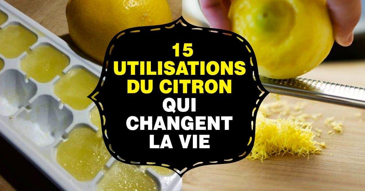 utilisation du citron
