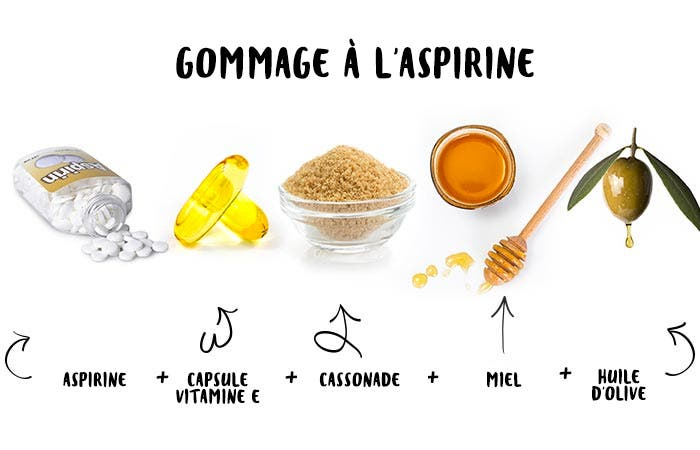 16 Gommage à laspirine