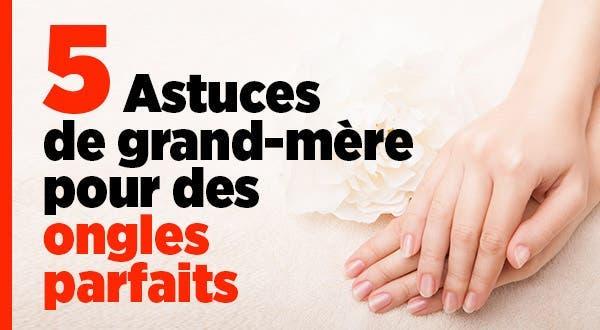 5 astuces de grand m re pour des ongles parfaits - Doigt blanc remede grand mere ...