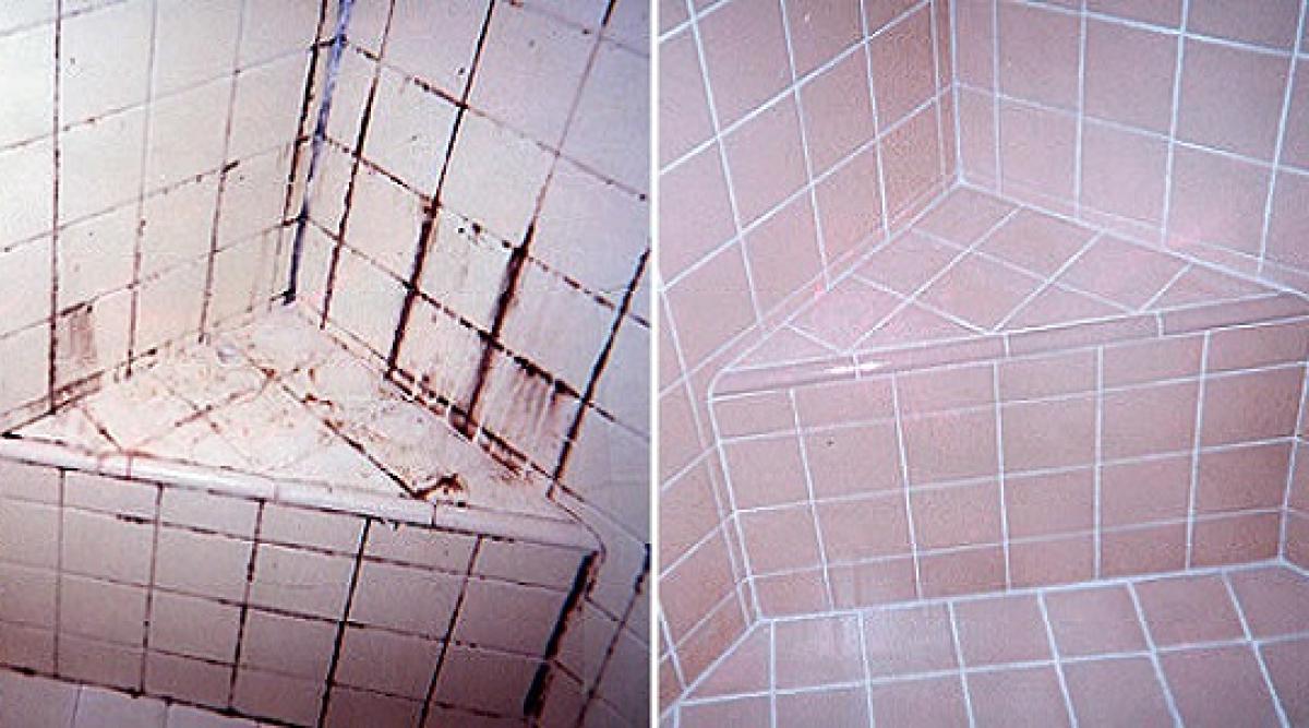 Un nettoyant maison puissant et naturel pour une salle de bain