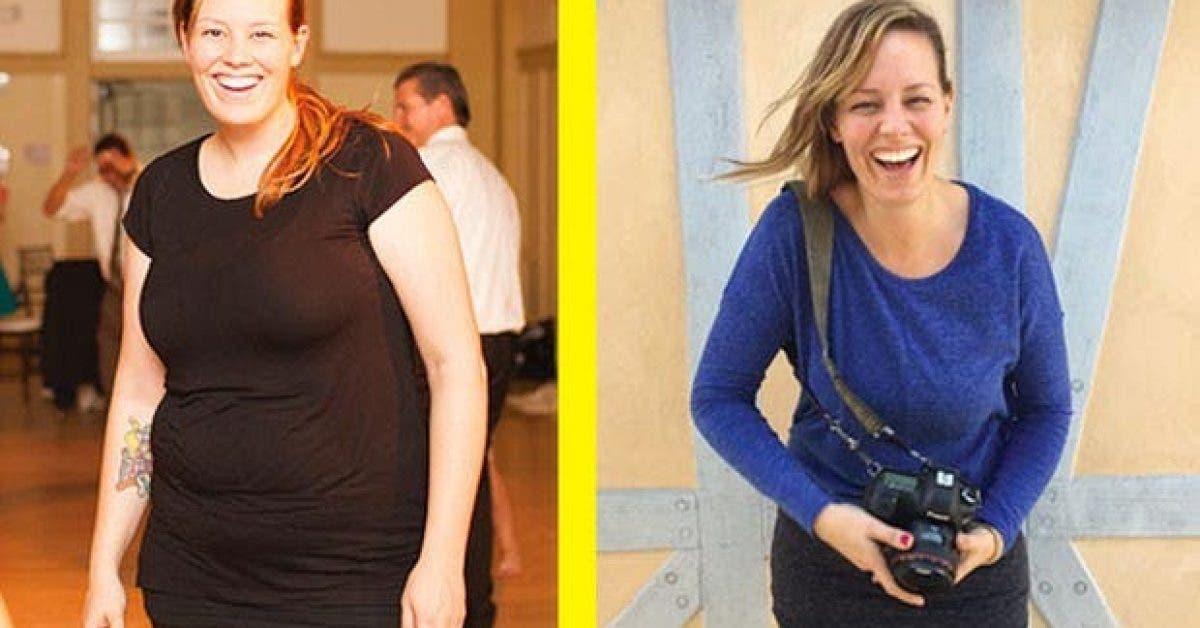 3 conseils faciles de cette femme qui lui ont permis de perdre 34 kilos 1