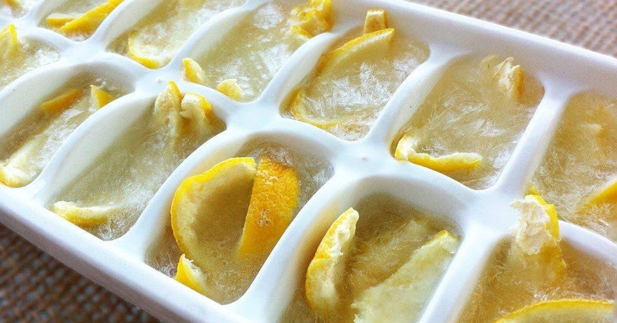 3 raisons de commencer à consommer du citron congelé le matin