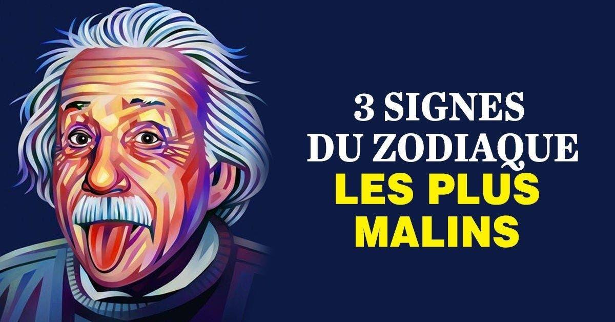 3 signes du zodiaque connus pour être les plus malins