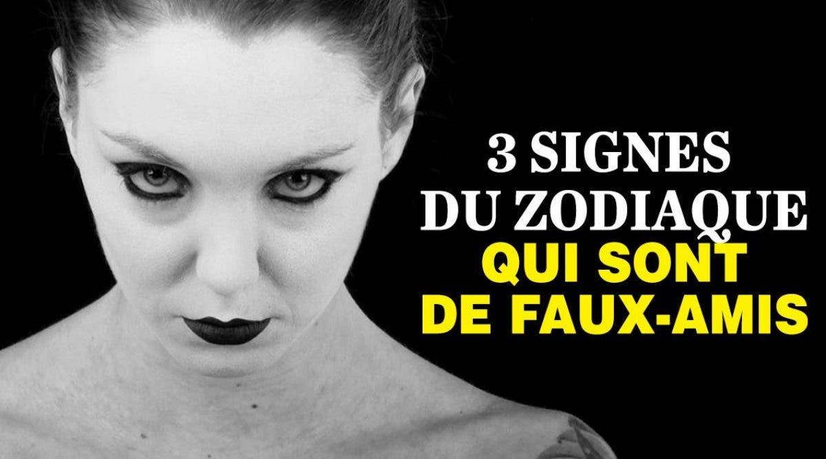 signes du zodiaque qui sont de faux-amis