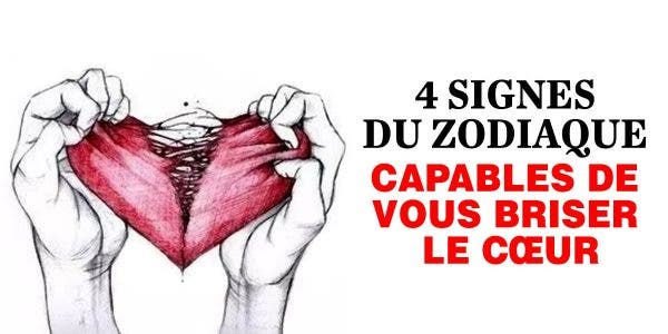 signes du zodiaque capables de vous briser le cœur sans aucune pitié