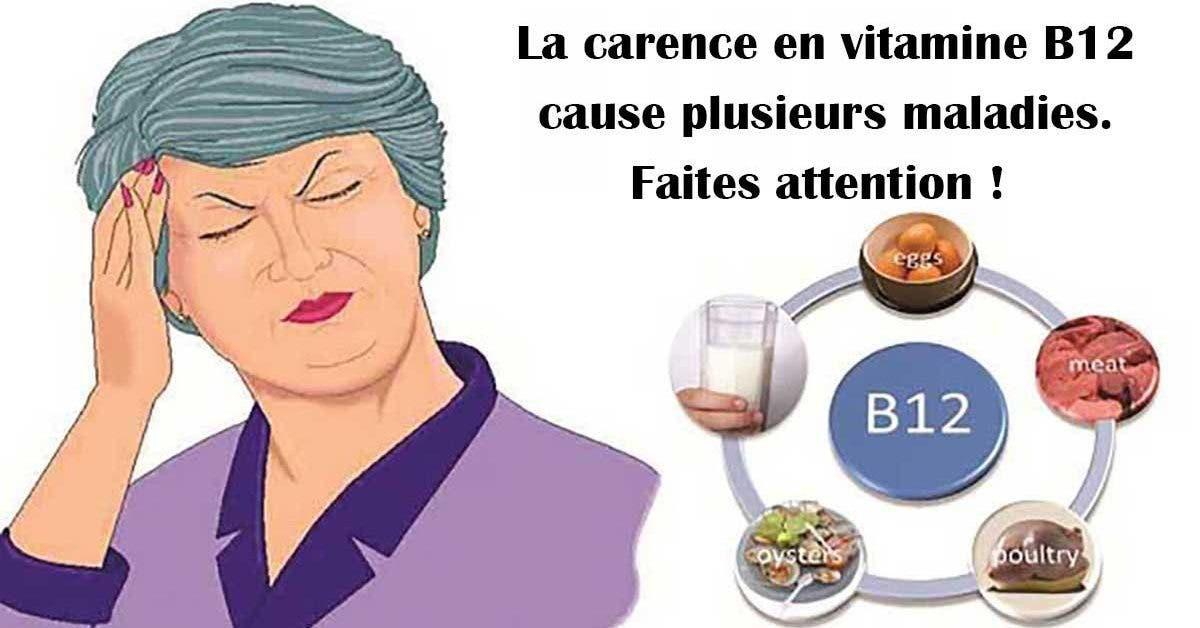 4 symptômes d'une carence en vitamine B12 et 4 aliments qui en sont riches