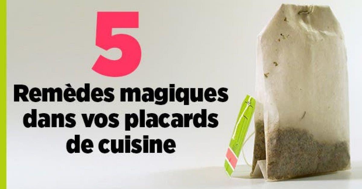 5 Remedes magiques dans vos placards de cuisine11