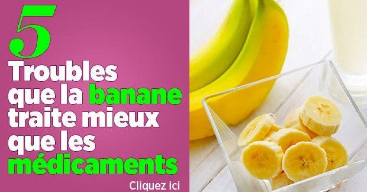 5 Troubles que la banane traite mieux que medicaments11