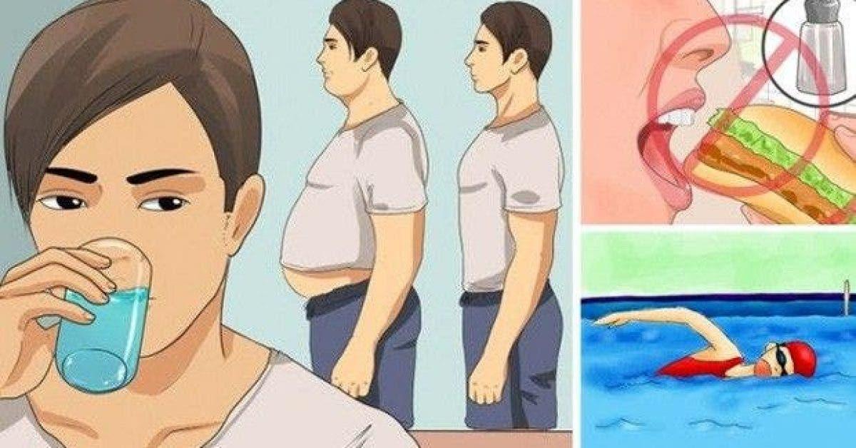 5 astuces pour eliminer lexces deau de votre corps 1