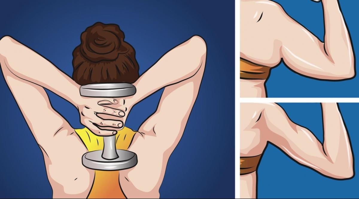 5 exercices géniaux pour éliminer la graisse des bras et les raffermir