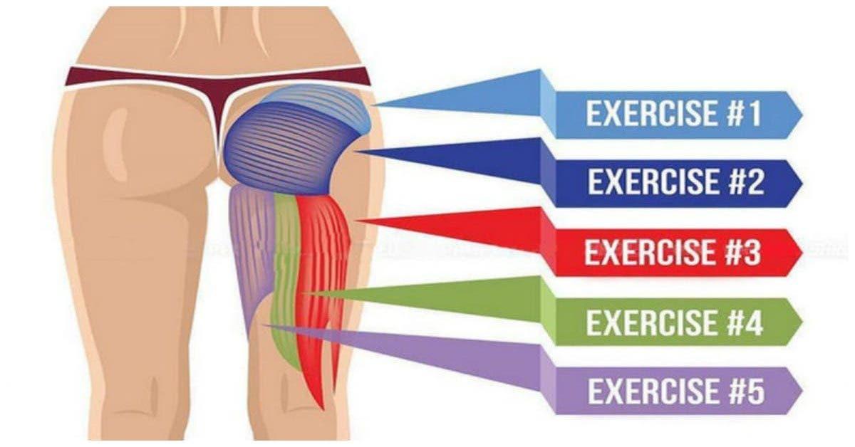 5 exercices pour avoir un beau fessier et ameliorer votre posture 1