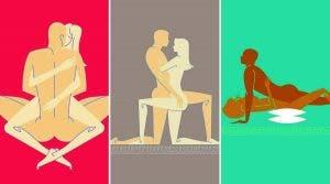 positions sexuelles pour aider les femmes à atteindre l'orgasme plus facilement