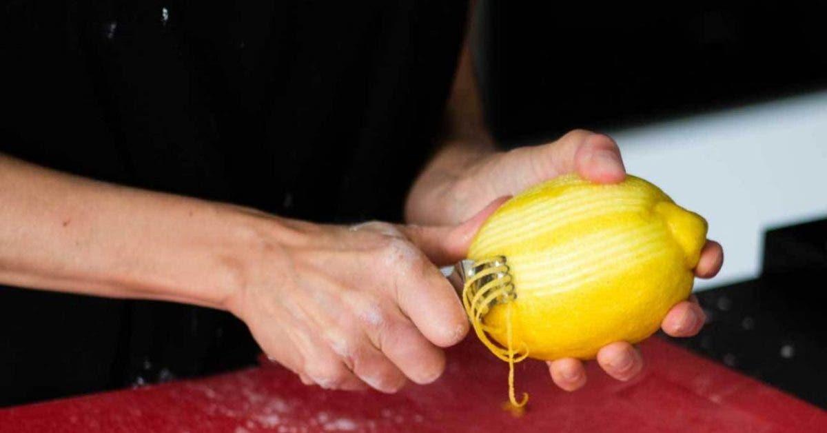 zestes de citron
