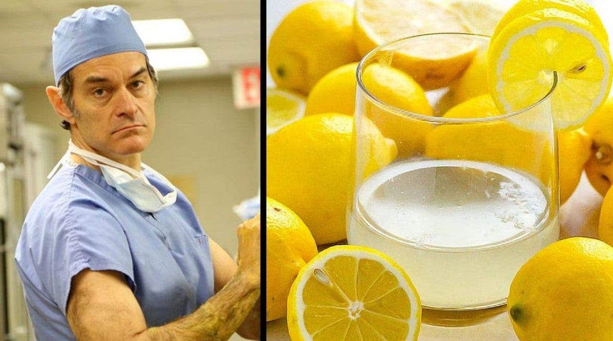 5 raisons pour lesquelles ce célèbre médecin recommandent de consommer de l'eau au citron à ses patients