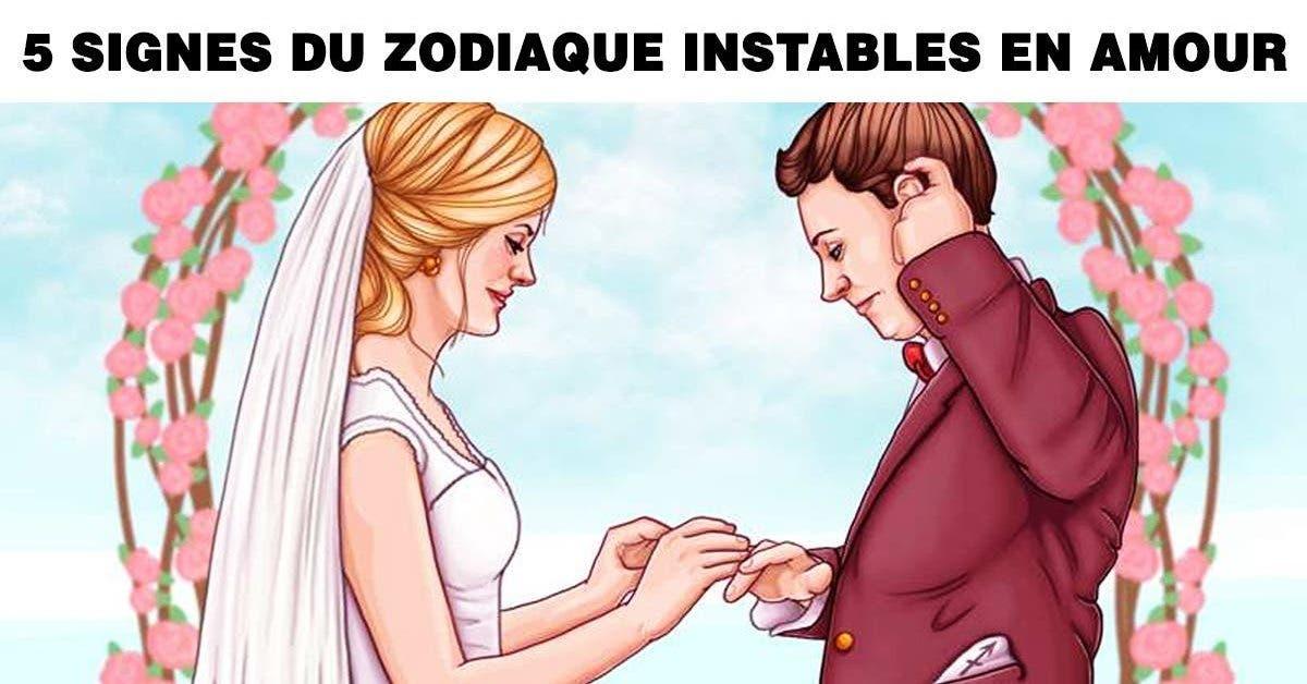 ignes du zodiaque les plus instables dans leurs relations amoureuses