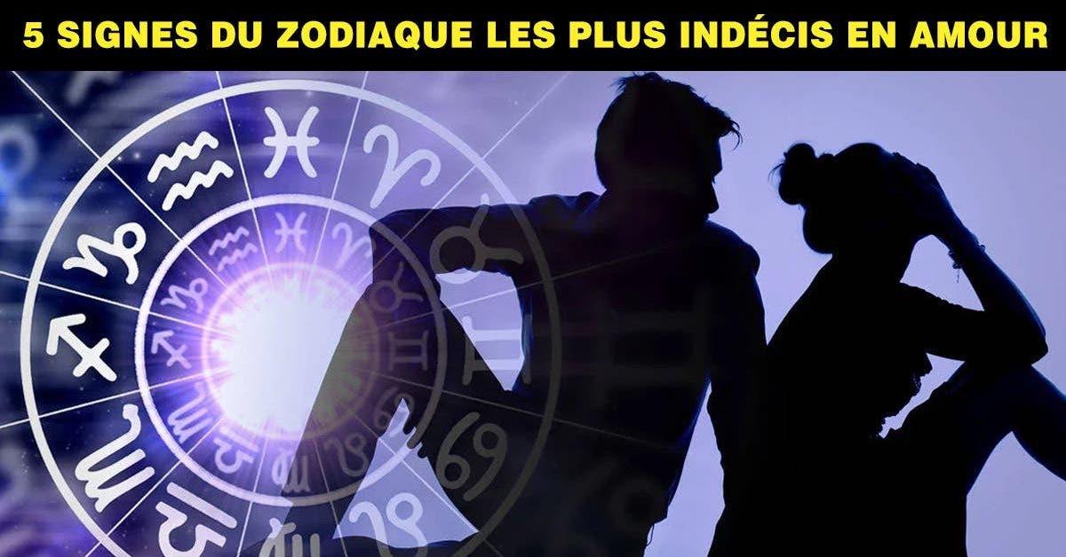 5 signes du zodiaque les plus indécis en amour