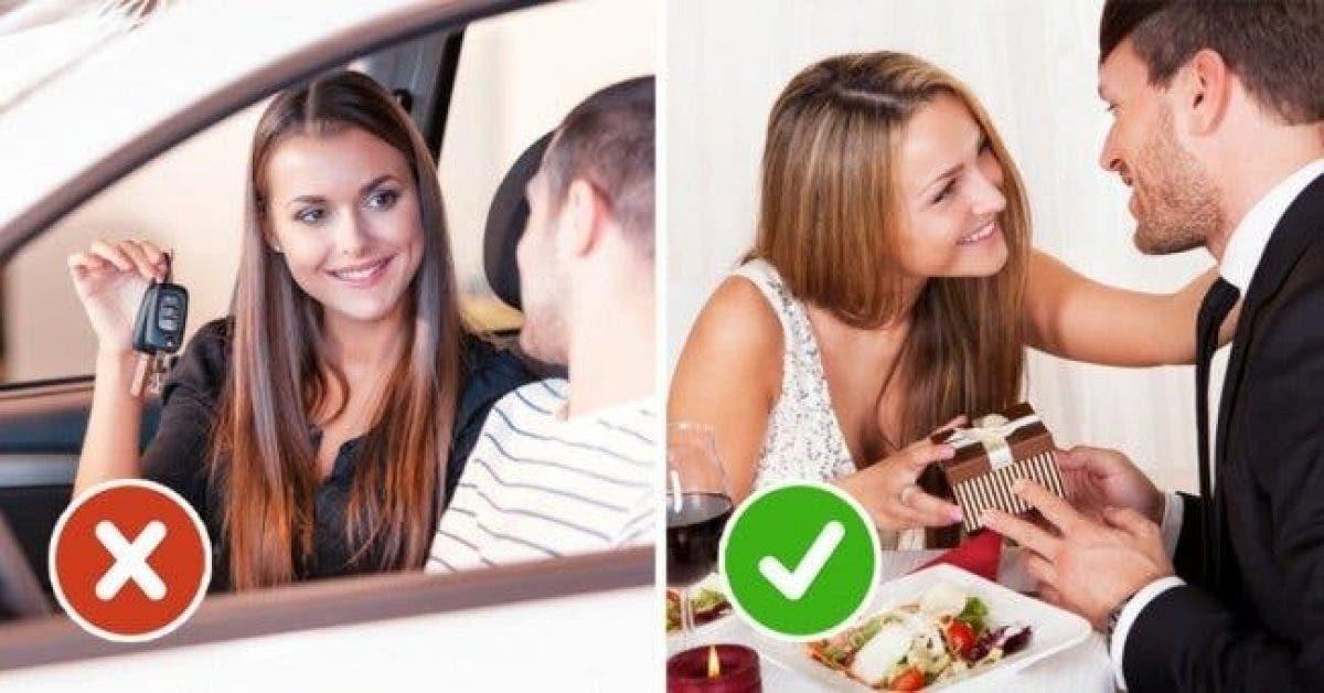 6 choses que vous ne devriez jamais faire à votre homme