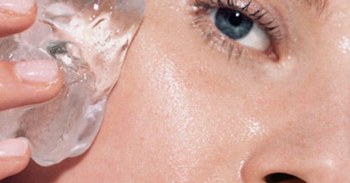 6 choses qui arrivent a votre corps lorsque vous mettez un glacon sur votre peau 1