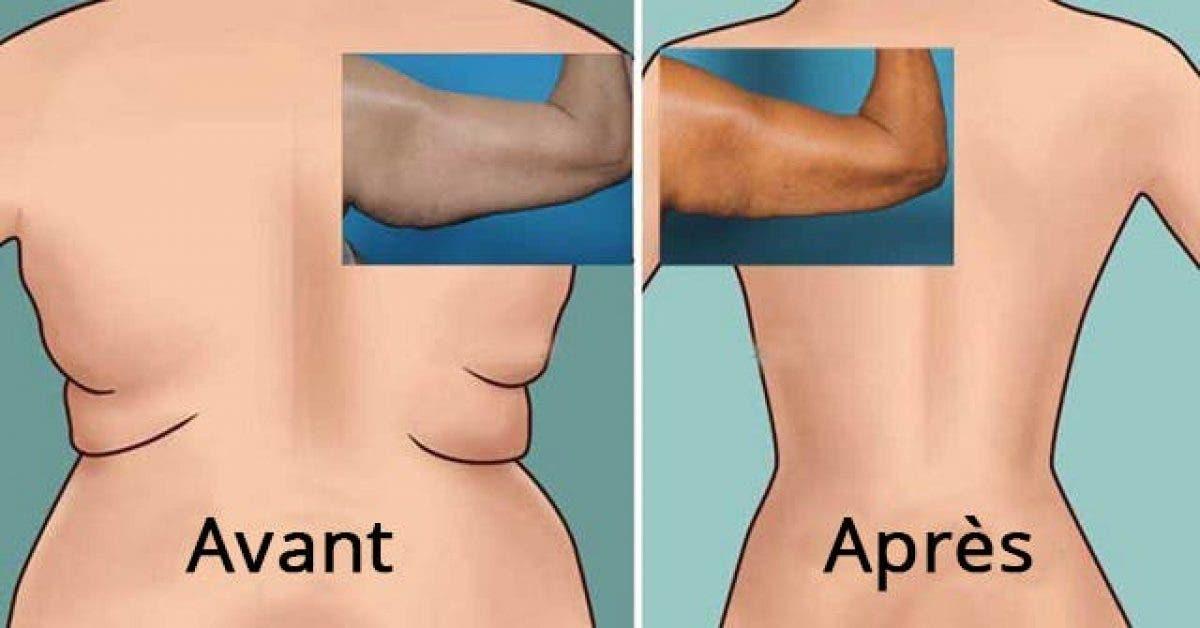6 exercices brûle-graisse pour muscler le dos et la région des aisselles
