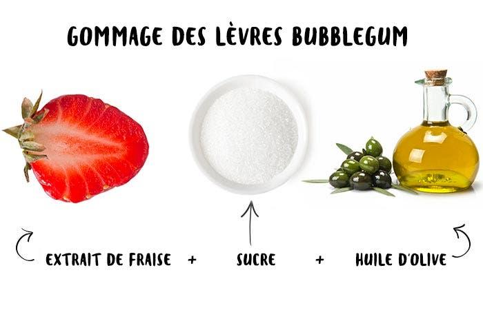 7 Gommage des lèvres Bubblegum