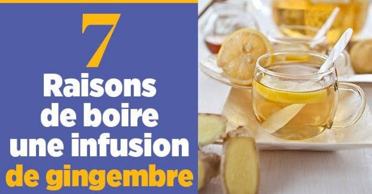 7 Raisons de boire une infusion de gingembre11