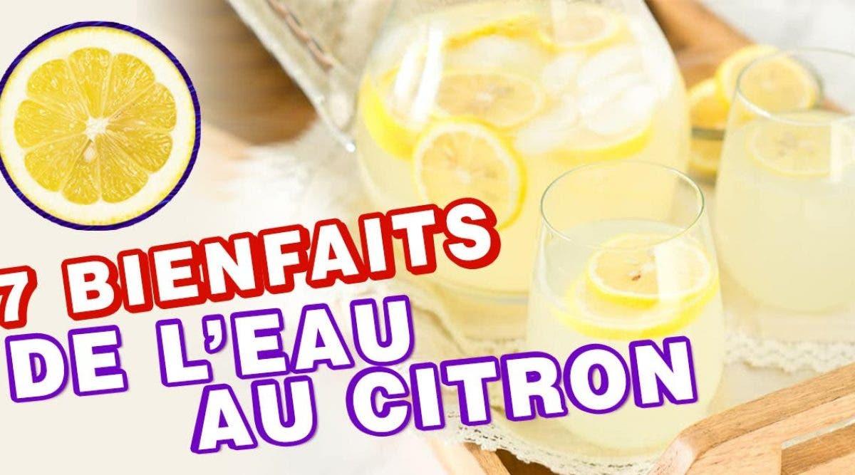 bienfaits prouvés par la science de l'eau tiède au citron