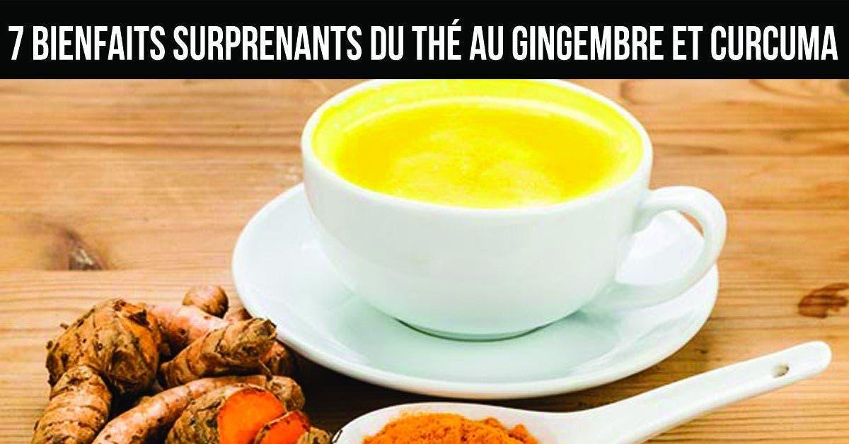 7 bienfaits surprenants du thé au gingembre et curcuma