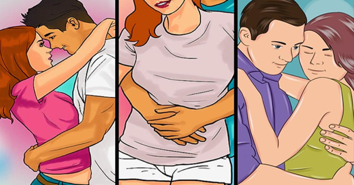 7 différents types câlins qui en disent long sur votre relation de couple