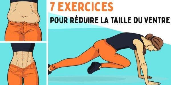 7 exercices pour réduire la taille du ventre