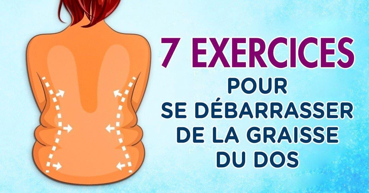 exercices pour se débarrasser des plis sur le dos et les côtés