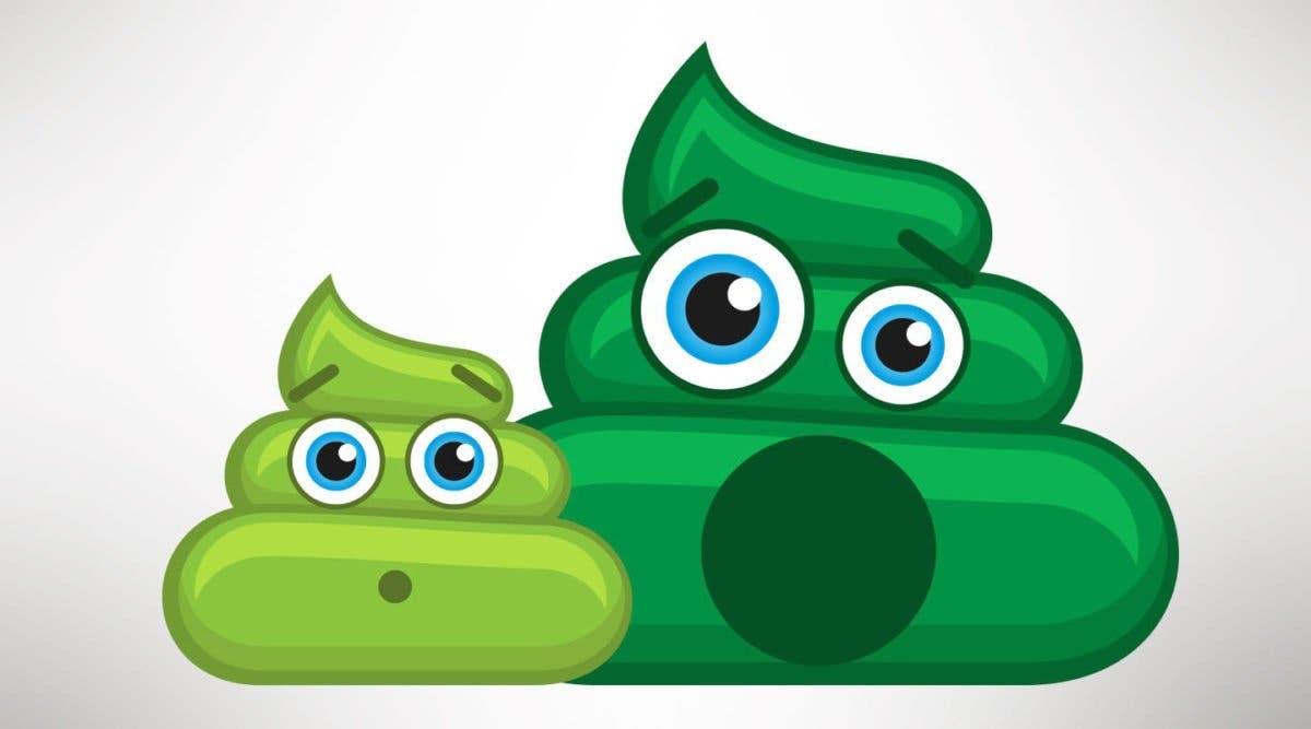 7 raisons qui peuvent expliquer que votre caca est de couleur verte