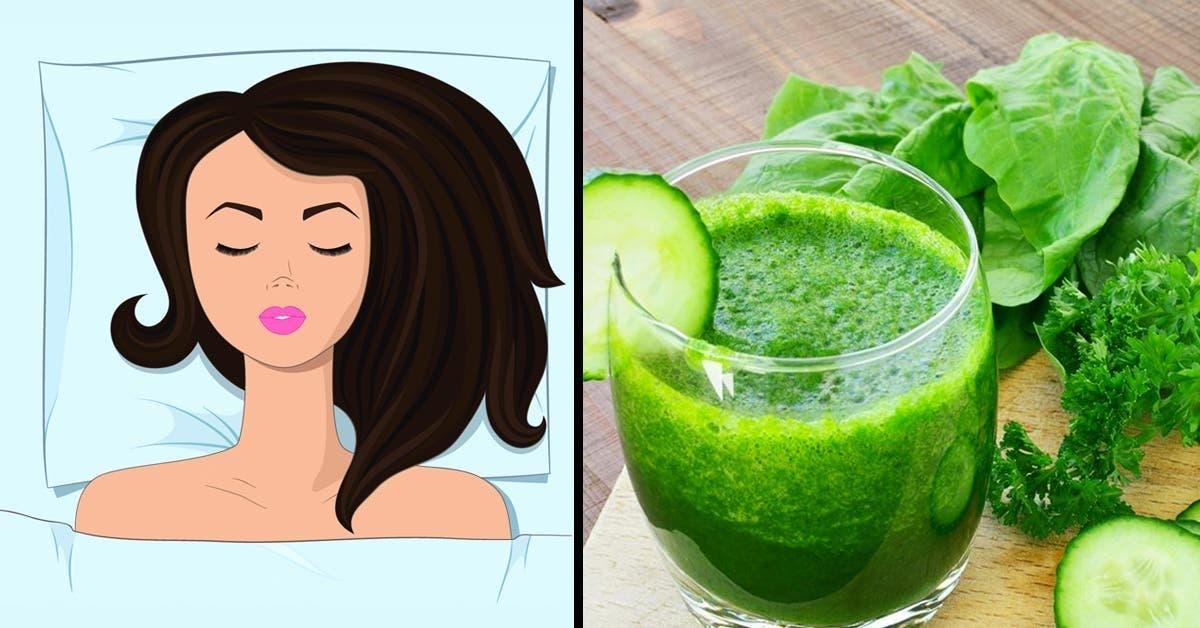 8 boissons a boire le soir pour eliminer les graisses abdominales pendant la nuit
