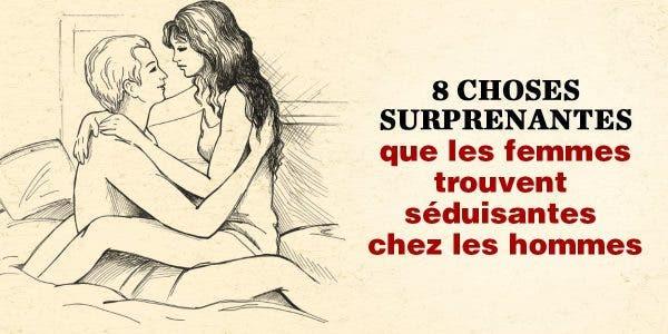 Les femmes sont attirées par les hommes pour 8 raisons