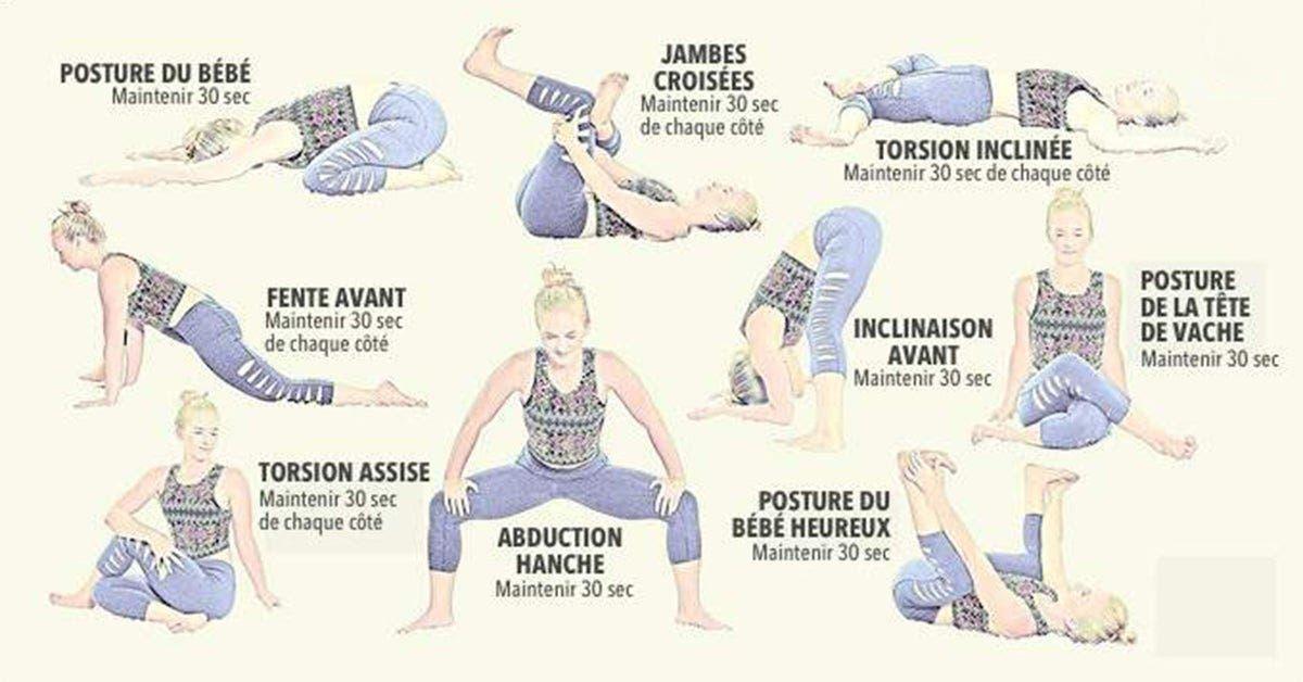 8 etirements efficaces pour soulager les douleurs du bas du dos et des hanches 2 1