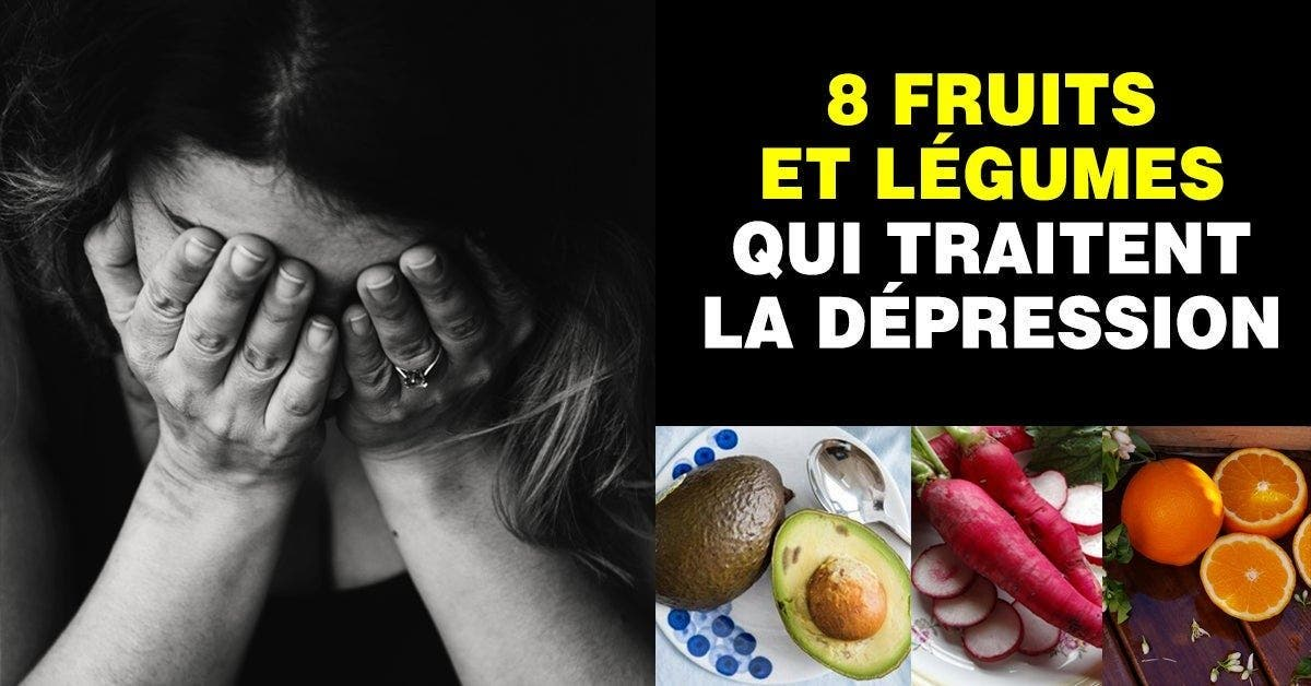 fruits et légumes qui traitent la dépression