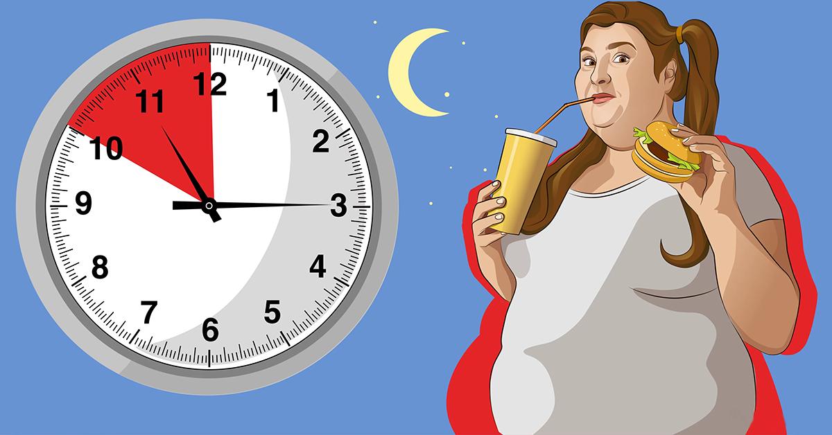 8 mauvaises habitudes au coucher qui font prendre du poids 1