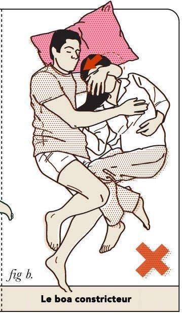 8 positions de sommeil que les couples ne devraient pas faire dans la chambre a coucher 3 1